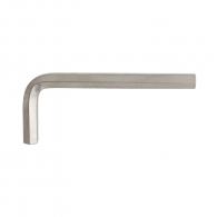 Ключ Г-образен UNIOR 8.0мм, шестостен, никелиран, закален, CrV