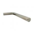 Ключ Г-образен UNIOR 8.0мм, шестостен, никелиран, закален, CrV - small, 40955