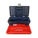 Куфар за инструменти TAYG 12, с една тава, полипропилен, син - small, 136910