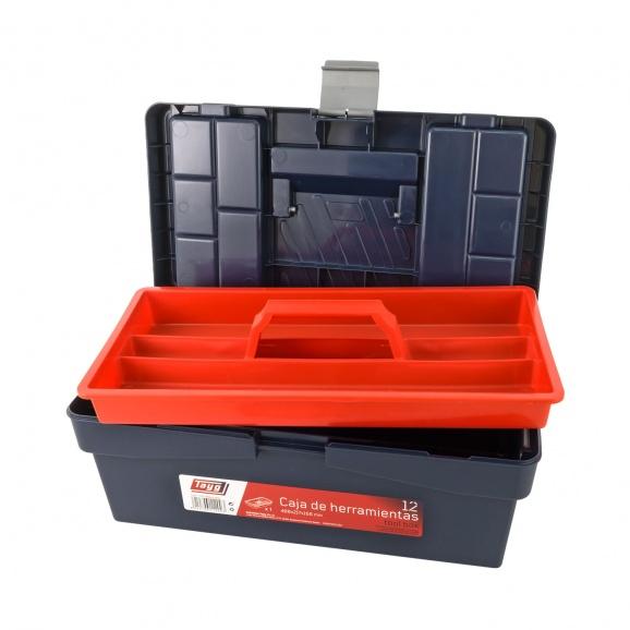 Куфар за инструменти TAYG 12, с една тава, полипропилен, син