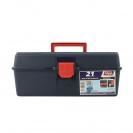 Куфар за инструменти TAYG 21, с една тава, полипропилен, син - small, 136922