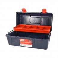 Куфар за инструменти TAYG 22, с една тава, полипропилен, син