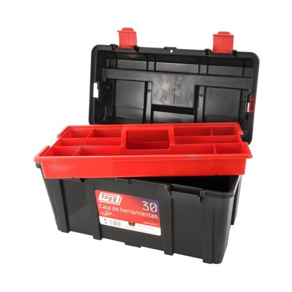 Куфар за инструменти TAYG 30, с една тава, полипропилен, черен