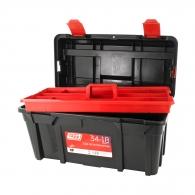 Куфар за инструменти TAYG 34-1B, с една тава, полипропилен, черен