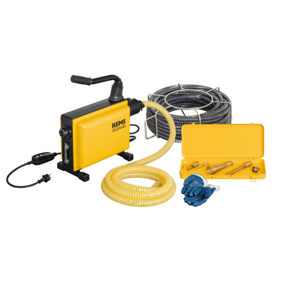 Машина за почистване на тръби и канали REMS COBRA 22, 750W, 740об/мин, 20-150мм