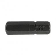 Накрайник шестограм за ударна отвертка UNIOR 8.0x30мм, C8, CS