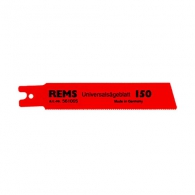 Нож за ел.ножовка REMS 1.8-2.5х100/80мм, универсален, HSS-Bi, захват REMS