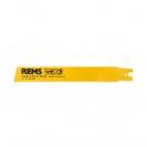 Нож за ел.ножовка REMS 3.2х200/180мм, стоманени тръби, HSS-Bi, захват REMS - small