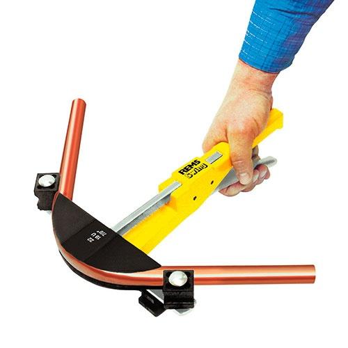 Огъвач за тръби REMS SWING SET 12-15-18-22мм, ръчен