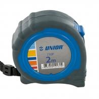 Ролетка пласмасов корпус UNIOR 710P 2м x 16мм, гумирана, двоен стоп, EC-клас II