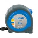 Ролетка пласмасов корпус UNIOR 710P 8м х 25мм, гумирана, двоен стоп, EC-клас 2 - small