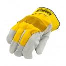 Ръкавици B HOLD GULL EVO, от цепена телешка кожа и плат, подсилена длан - small, 126446