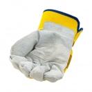 Ръкавици B HOLD GULL EVO, от цепена телешка кожа и плат, подсилена длан - small, 126447