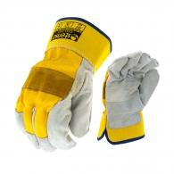 Ръкавици B HOLD GULL EVO, от цепена телешка кожа и плат, подсилена длан