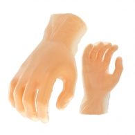 Ръкавици CERVA RAIL, винил, еднократна употреба, размер L 8-9, 100бр в кутия