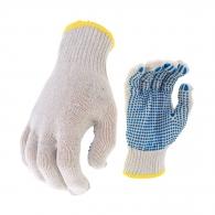 Ръкавици PLOVER, от безшевно трико полимерни капки, ластичен маншет