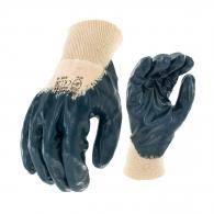 Ръкавици SAFETECH HARRIER, от безшевно трико,топени в нитрил,ластичен маншет