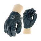 Ръкавици SAFETECH ROLLER, от безшевно трико топени в нитрил ,маслоустойчиви,ластичен маншет - small