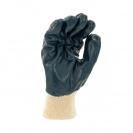 Ръкавици SAFETECH ROLLER, от безшевно трико топени в нитрил ,маслоустойчиви,ластичен маншет - small, 126418