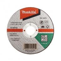 Диск карбофлексов MAKITA 115x3.0x22.23мм, за рязане на неметал