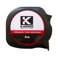 Ролетка KAPRO 608 Pro Touch 8m x 25mm, гумирана, пласмасов корпус