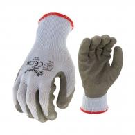 Ръкавици SAFETECH DIPPER, от безшевно трико,топени в латекс,ластичен маншет