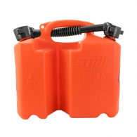 Комбинирана туба за масло и бензин STIHL 5/3л, пластмасова, оранжева