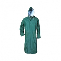 Дъждобран STENSO CETUS XXXL, с качулка, PVC/PE, зелен