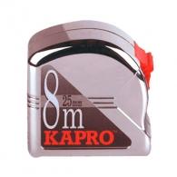 Ролетка KAPRO 500 Measuring 8m x 25mm, хромиран пласмасов корпус