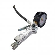 Пистолет за помпане на гуми BONEZZI, с манометър ф63мм, 0-10bar
