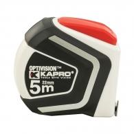 Ролетка KAPRO 608 Pro Touch 5m x 19mm, гумирана, пласмасов корпус