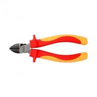 Клещи резачки TOPMASTER 160мм, ф1.6/1.8/2.0мм, CrV, двукомпонентна дръжка, 1000V