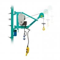 Лебедка подемна електрическа IMER Airone 200, 700W, 200кг, 25м/5.0мм - въже