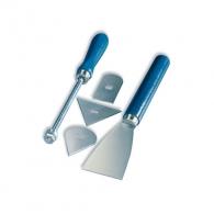 Нож и държач за почистване STEINEL 5части, държач, три сменяеми остриета и стъргалка