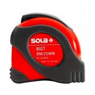Ролетка SOLA BIGT 8m х 25mm, гумирана, пласмасов корпус, EC-клас 1