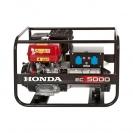 Генератор HONDA EC5000K1 GV, 5.0kW, 230V, бензинов, монофазен - small