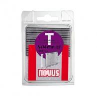 Гвоздей за такер NOVUS 1.65х14мм, тип N/T, 1000бр./блистер