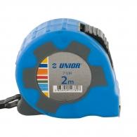 Ролетка пласмасов корпус UNIOR 710R 2м x 16мм, гумирана, двоен стоп