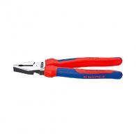 Клещи комбинирани KNIPEX 200мм, ф2.2/2.8мм, ф13мм/25мм2, CS, двукомпонентнa дръжкa