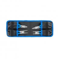 Клещи зегер UNIOR 10-25/140мм комплект 4бр., за отвор и вал, прави и извити 90°