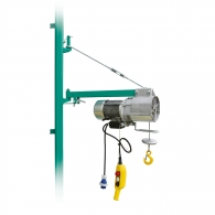 Лебедка подемна електрическа IMER BE200, 700W, 200кг, 25м/5.0мм - въже