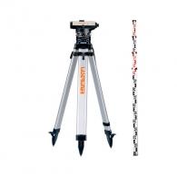 Оптичен нивелир LASERLINER AL 22 Classic set, увеличение 22x, стандартно отклонение 2.5мм/км