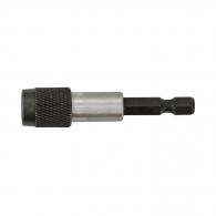 Удължител за накрайници с бързо освобождаване NAREX 60мм, 1/4'', E6.3, с магнит