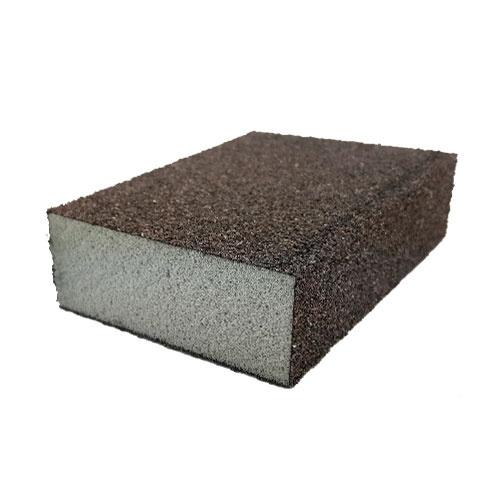 Абразивна гъба SMIRDEX 920 100х70х25мм P60, четиристранна, за метал, дърво, пластмаси и боядисани изделия
