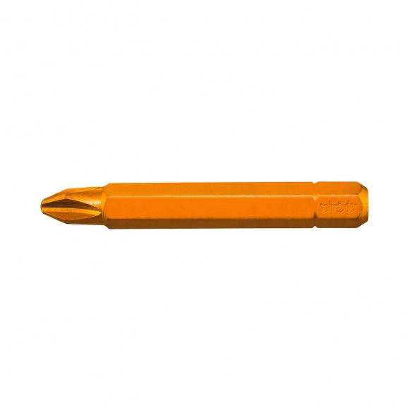 Накрайник кръстат SCHRODER TIN PH 1x50мм, C6.3, 73MoV52