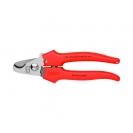 Ножица за кабели KNIPEX 165мм, ф10мм, еднокомпонентна дръжка - small