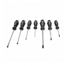 Отвертки комплект NAREX 7части, PH, SB, еднокомпонентна дръжка - small, 21246