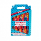 Отвертки комплект NAREX TWIN PLAST ELEKTRO LINE PROFI 7части, 1000V, PH, PZ, SB, двукомпонентна дръжка - small