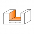 Прав фрезер CMT D=20мм I=16мм L=48мм S=8мм Z=2, HW, RH - small, 21095