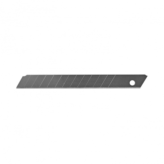 Резервно острие за макетен нож 9х84мм 10броя, чупещи се 12 елемента, 10бр в блистер